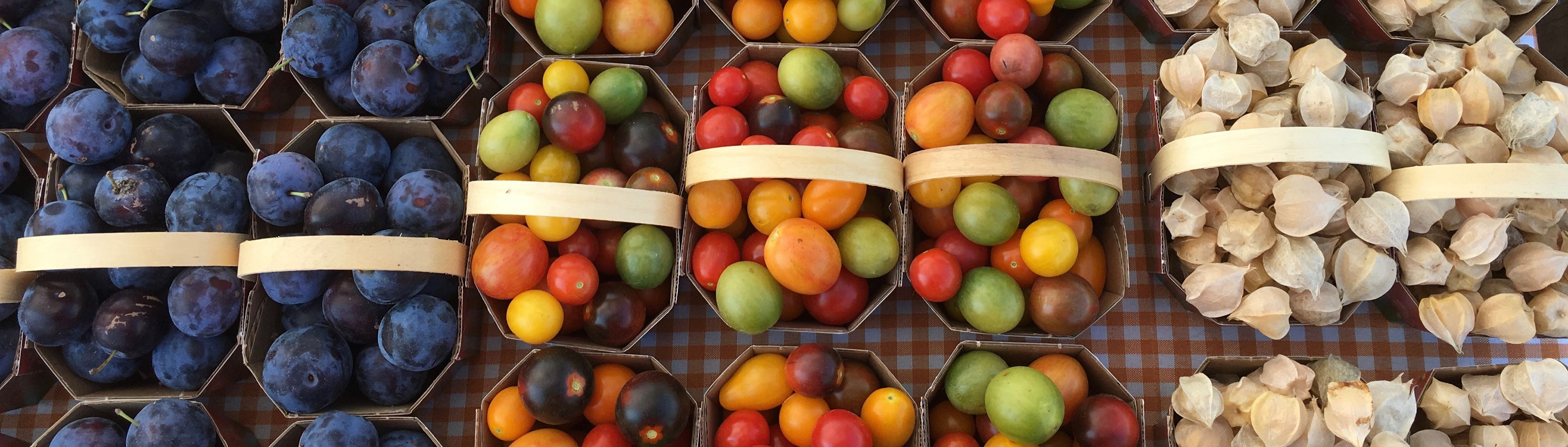 De toutes les couleurs, de toutes les saveurs!